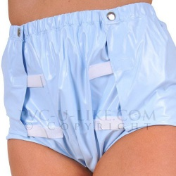 PVC ABDL Velcro Pants by PVC-U-Like - pul-pa28