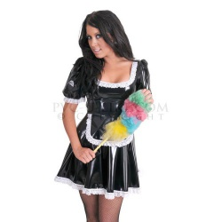 PVC Waitress Sissy Dress - male fit by PVC-U-Like - pul-un18