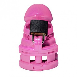 THE VICE Chastity Device PLUS - PINK - ri-4265