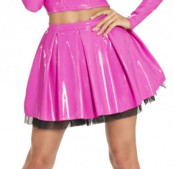 DateX mini-Skater Skirt with zipper - le-9204