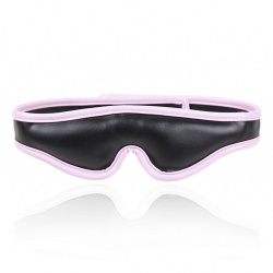 Padded Black/Pink Blindfold by MAE-Toys - mae-sm-012blk/pnk
