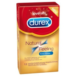 Natural Feeling - 12 Condoms by Durex - or-04134610000