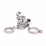 Chastity Cage DeLuxe 6.5 cm van Kiotos Steel - opr-277025