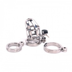 Chastity Cage DeLuxe 6.5 cm by Kiotos Steel - opr-277025