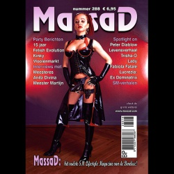 Massad BDSM Magazine 288- Massad editie Februari - Maart 2018   - ms-massadmagazine288