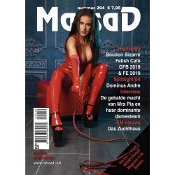 Massad BDSM Magazine 294- Massad editie Maart - April 2019 - ms-massadmagazine294