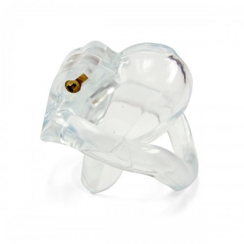 Micro Cock Chastity Cage - Clear