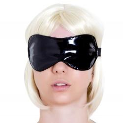 Zwarte Lak Blinddoek van Honour - hr-h1090