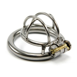 Steel Micro Chastity Cage by MAE-Toys - mae-sm-212