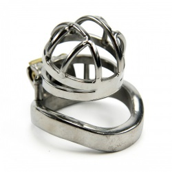 Steel Micro Chastity Cage by MAE-Toys - mae-sm-214