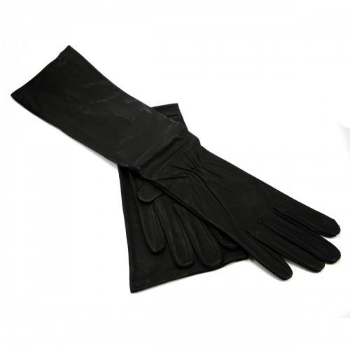 Lederen Lange Handschoenen van Erotex