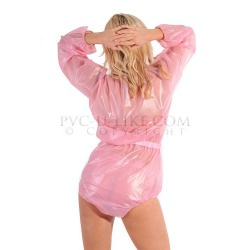 PVC Unisex ABDL Playsuit by PVC-U-Like - pul-ab29