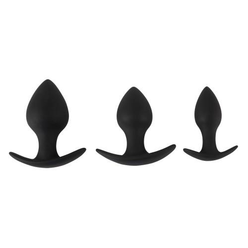 3-teiliges Anal-Trainer-Set von Black Velvets