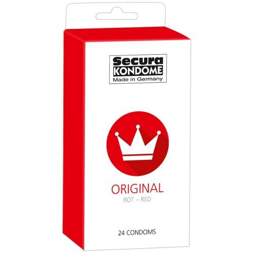 Original Red 24-pack condooms by Secura