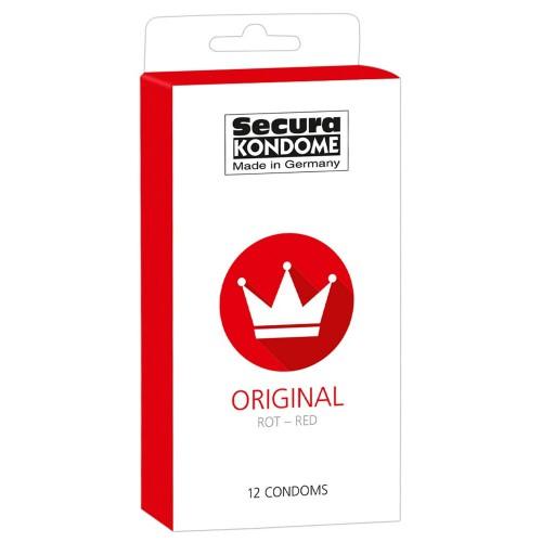 Original Red 12-pack condooms by Secura