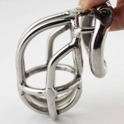 Steel Open Chastity Cage - mae-sm-146