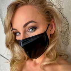 Wetlook Mondmasker van Noir - or-24804251100