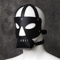 Lederen Prisoner Masker van Kiotos Leather - opr-3010013