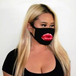 Sexy Lips Mondmasker - Dames - mae-cl-037