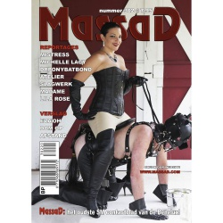 Massad BDSM Magazine 302 - Massad editie - Juli - Augustus 2020  - ms-massadmagazine302