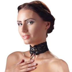 Kanten Halsband van Cottelli Collection - or-24503641001
