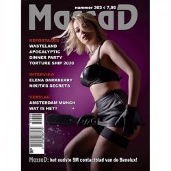 Massad BDSM Magazine 303 - Massad editie - September - Oktober 2020 - ms-massadmagazine303