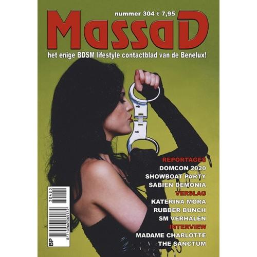 Massad BDSM Magazine 304 - Massad editie - November - December 2020