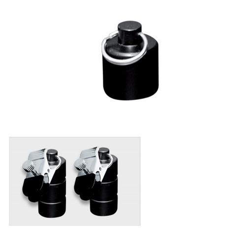 Tonnen Gewichte mit Klammern 100 gram (2x50 g.) - os-0253-1