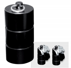 Tonnen Gewichte mit Klammern 1000 g. (2x500 g.) - os-0253-6