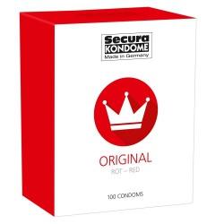 Original Red 100 Kondome von Secura - or-04157230000
