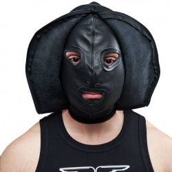 Mister B Leather Double Faced Hood - mb-632000