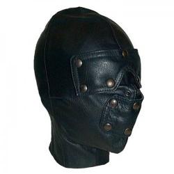 Mister B Leather Slave Hood - mrb-630200