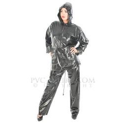 SU40 - Stock 2 piece rainsuit by PVC-U-Like - pul-su40