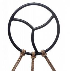 Black Label | Triskelion Shibari Suspension Ring - du-138311