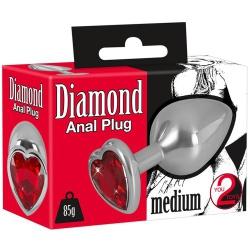 Aluminium JewelButt Plug Ø 34 mm van You2Toys - or-05327890000