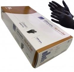 Zwarte Handschoenen nitril Cat III ongepoederd - XLarge - dd-99216903k