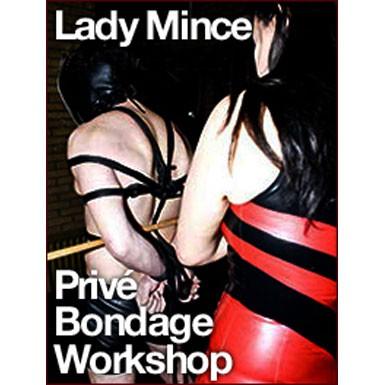Privé Bondage lessendoorLady Mince - sibari-workshop