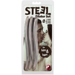 "3-teiliges Dilatorenset ""Steel"" Ø 7, 10 & 12mm - or-05127100000"