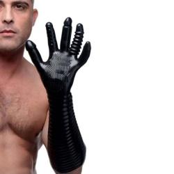 Genots Vuist Handschoen met Texturen voor Vuistneuken - du-af897