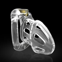 Medium model chastity device clear - Kidding - mae-sm-009m