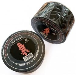 Bondage Tape Schwarz - 15 Meter - mae-sm-300