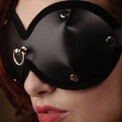 PVC dames blinddoek met D-ring - mae-sm-301