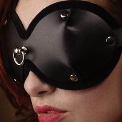 PVC dames blinddoek met D-ring