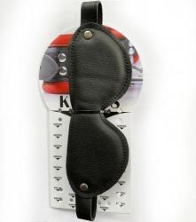 Luxury Leather Blindfold by Kiotos - 134-kio-0283