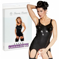 Latex jarretelcorsage - Or-02865240000