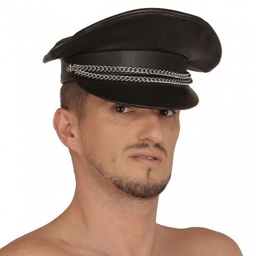Leather Hat 362 - Le-362-BLK
