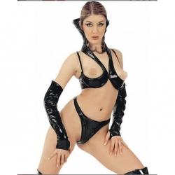Black PVC Thong #1139 - le-1139