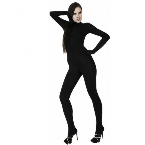 Black Stretch Jumpsuit 3046 - le-3046