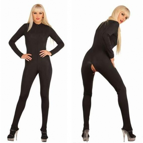 Black Stretch Jumpsuit 3109 - Le-3109