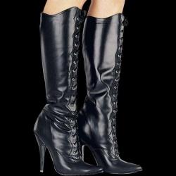 Laced Boots - shoe size 39 - le-D031